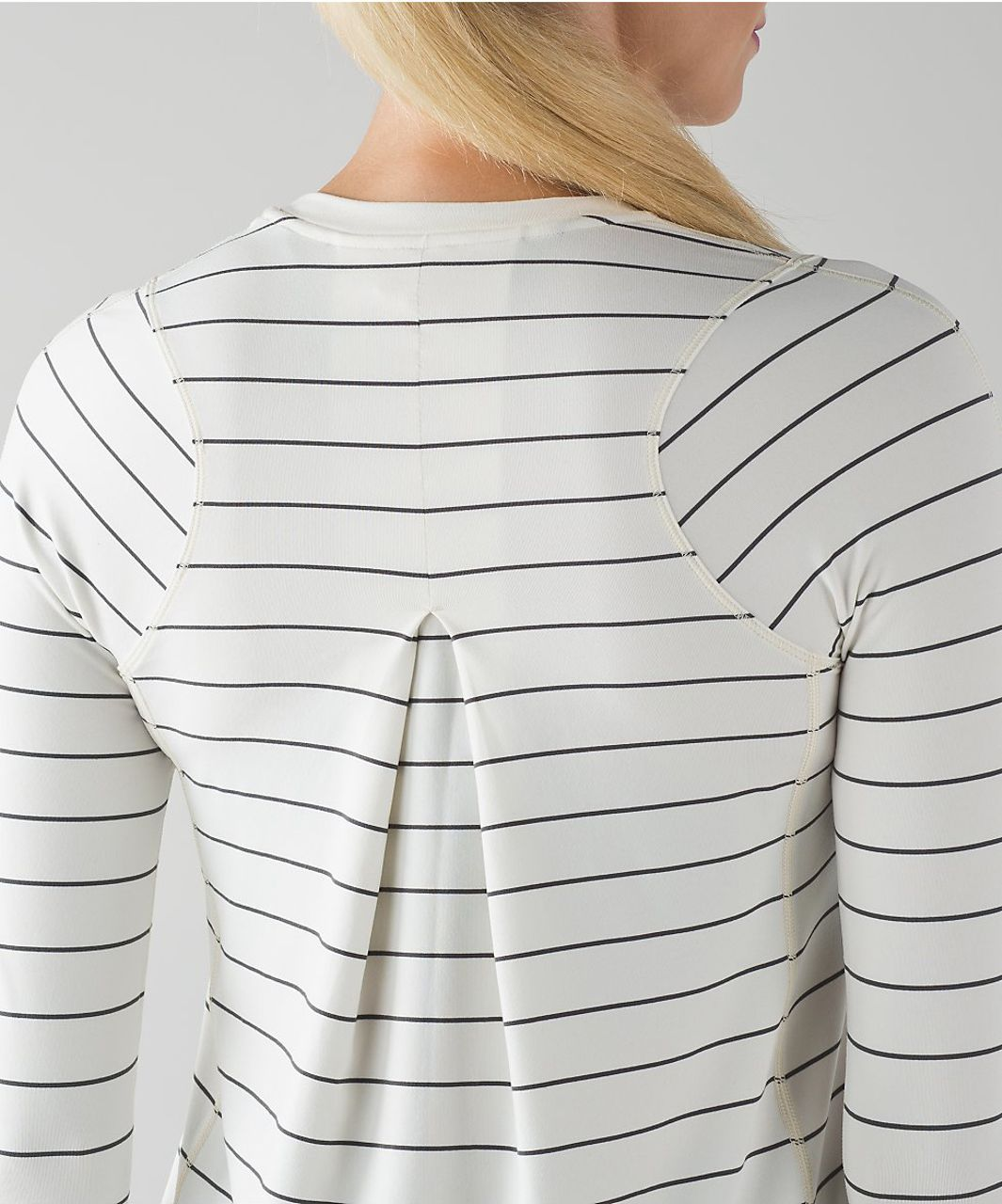 Lululemon Tuck And Flow Long Sleeve - Silver Spoon Angel Wing (AU release)