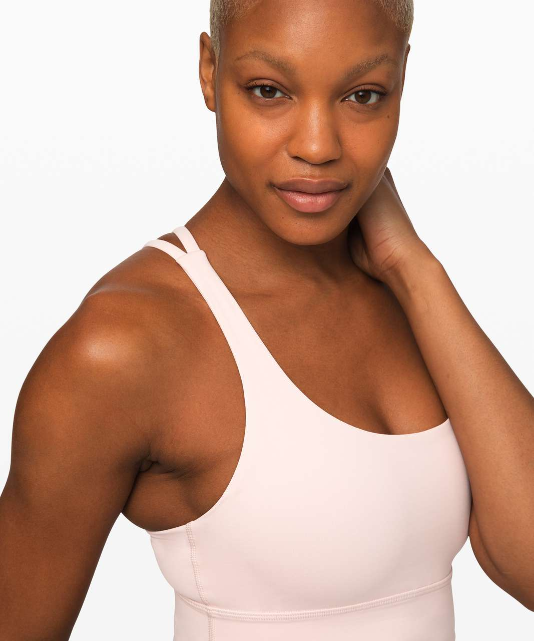 Lululemon Energy Bra *Long Line - Pink Bliss