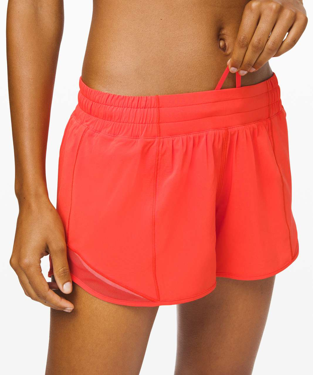 "Lululemon Hotty Hot Short II *Long 4"" - Thermal Red"