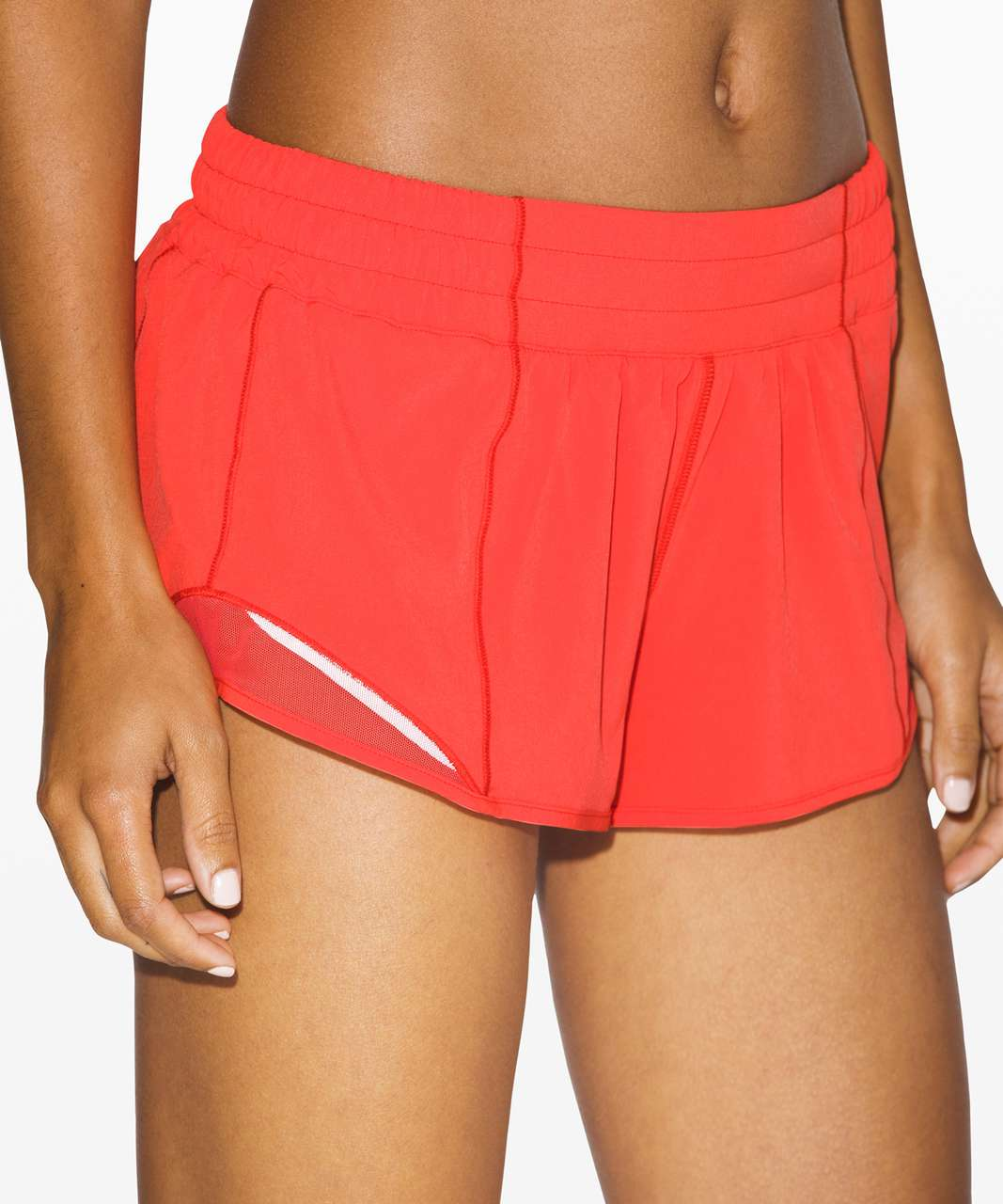 "Lululemon Hotty Hot Short II *2.5"" - Thermal Red"