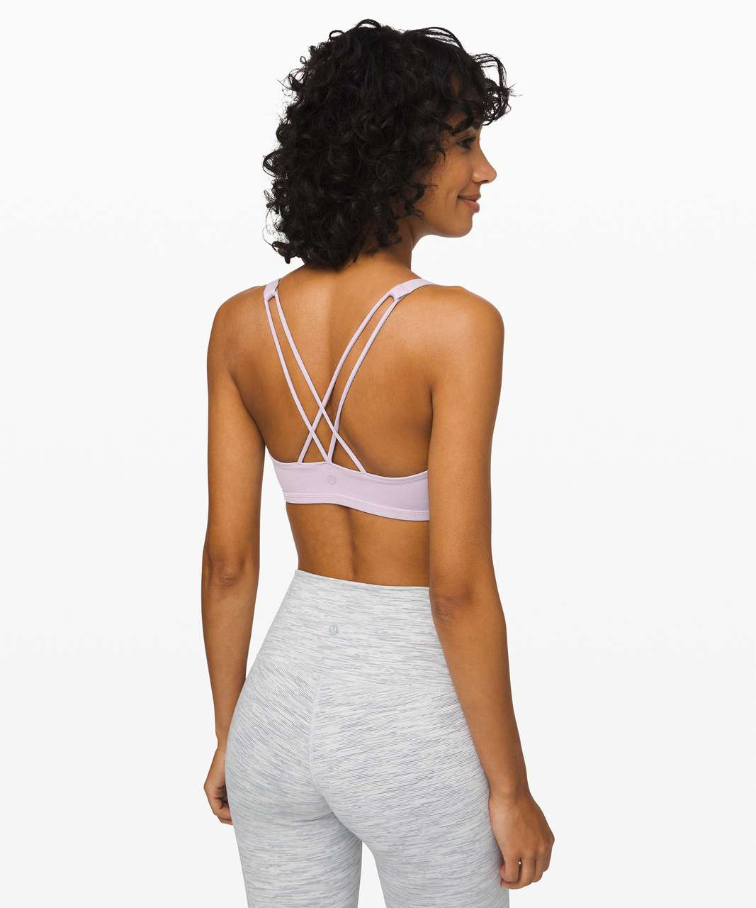 Lululemon Free To Be Bra - Silver Lilac