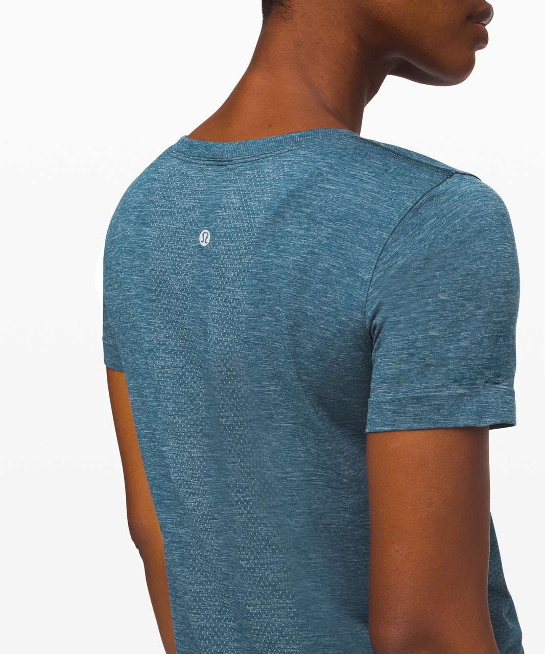 Lululemon Swiftly Relaxed Short Sleeve - Blue Charcoal / Night Diver