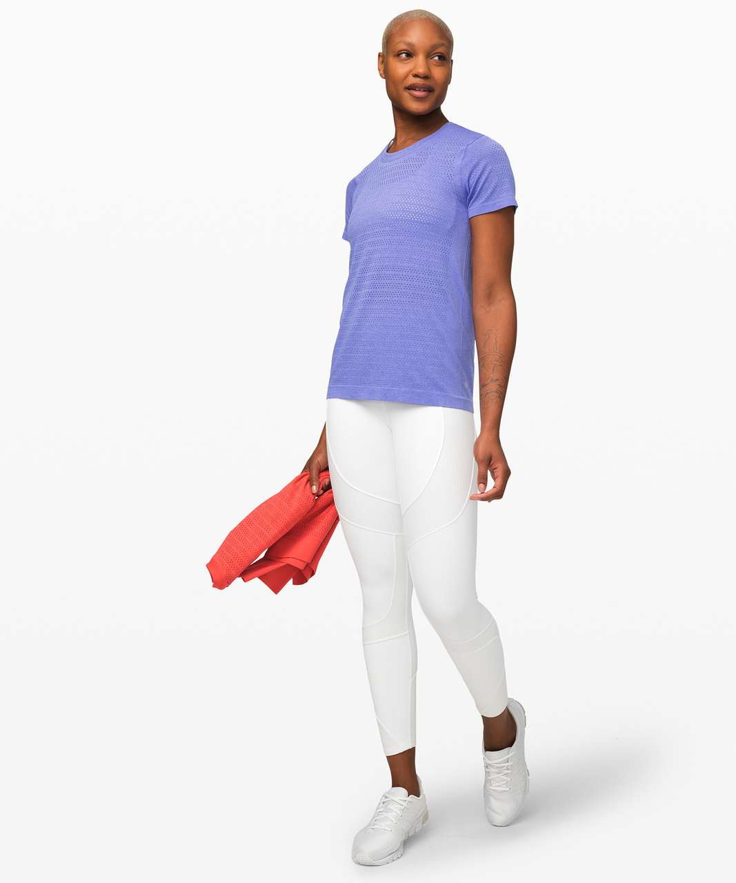 Lululemon Breeze By Short Sleeve *Squad - Violet Viola / Violet Viola