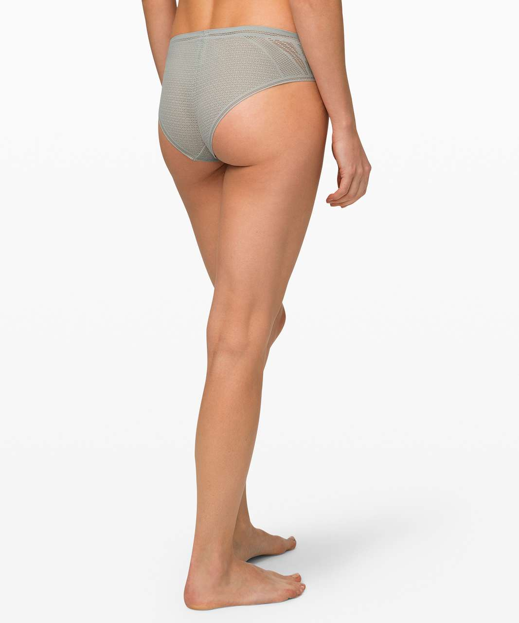 Lululemon Awake to Lace Cheeky Bikini - Jade Grey