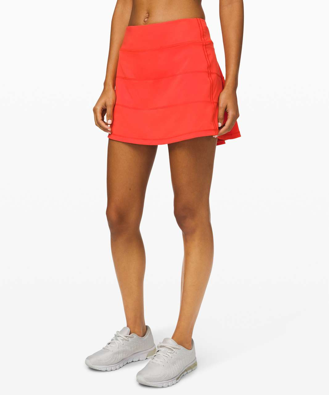"""Lululemon Pace Rival Skirt (Tall) *4-way Stretch 15"""" - Thermal Red"""