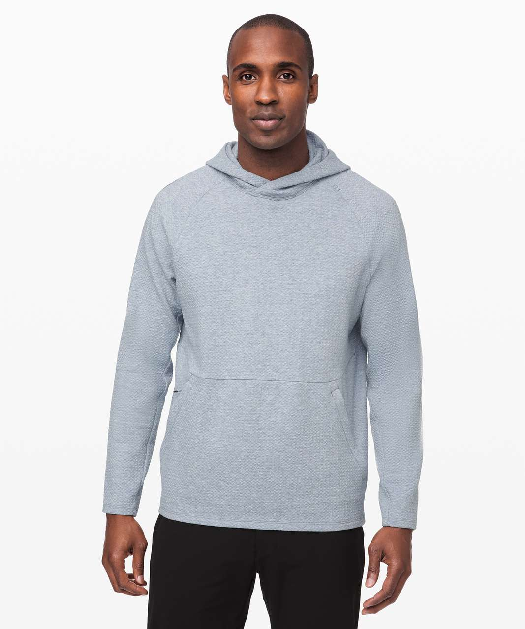 Lululemon At Ease Hoodie - Heathered Chambray / Black