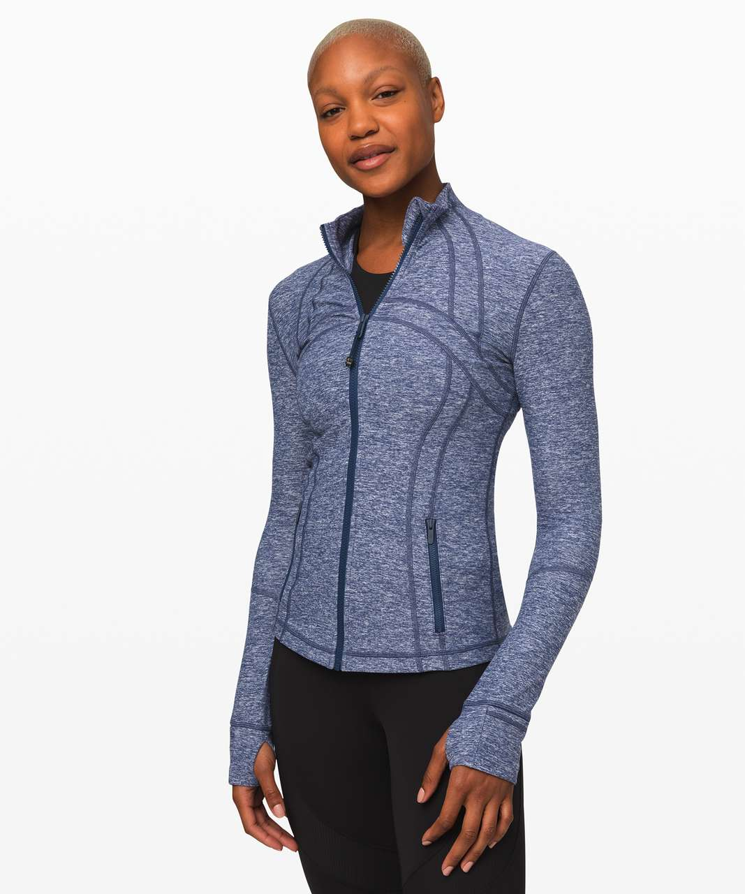 Lululemon Define Jacket *Rulu - Heathered Hero Blue
