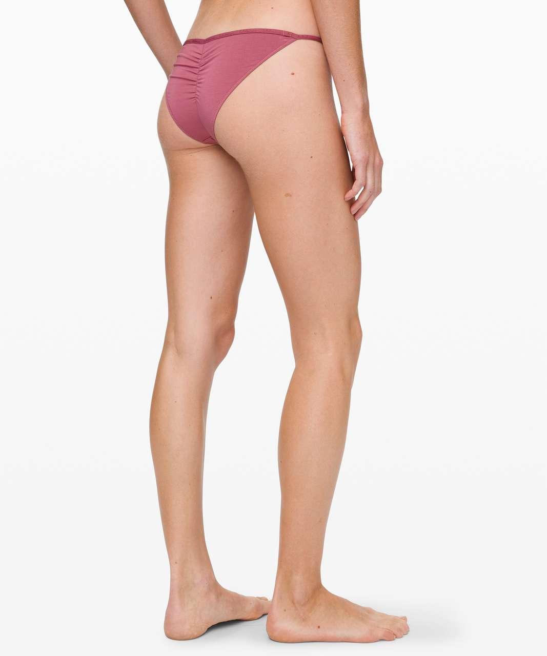 Lululemon Simply There Cheeky Bikini - Moss Rose