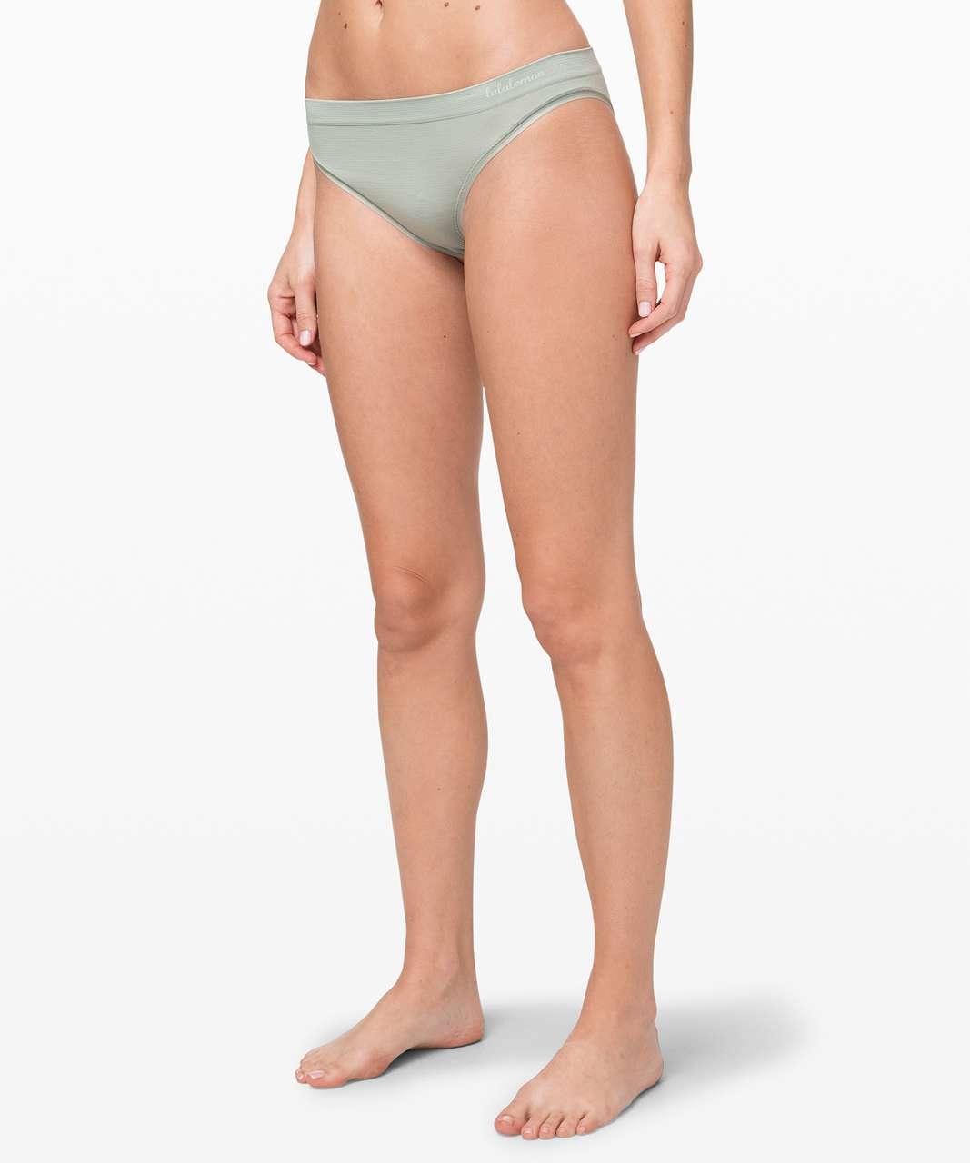 Lululemon Truly Tranquil Cheeky Bikini - Jade Grey