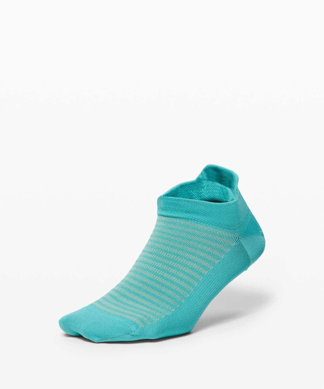 Lululemon Light Speed Sock *Silver - Aqua Aura / Rip Tide