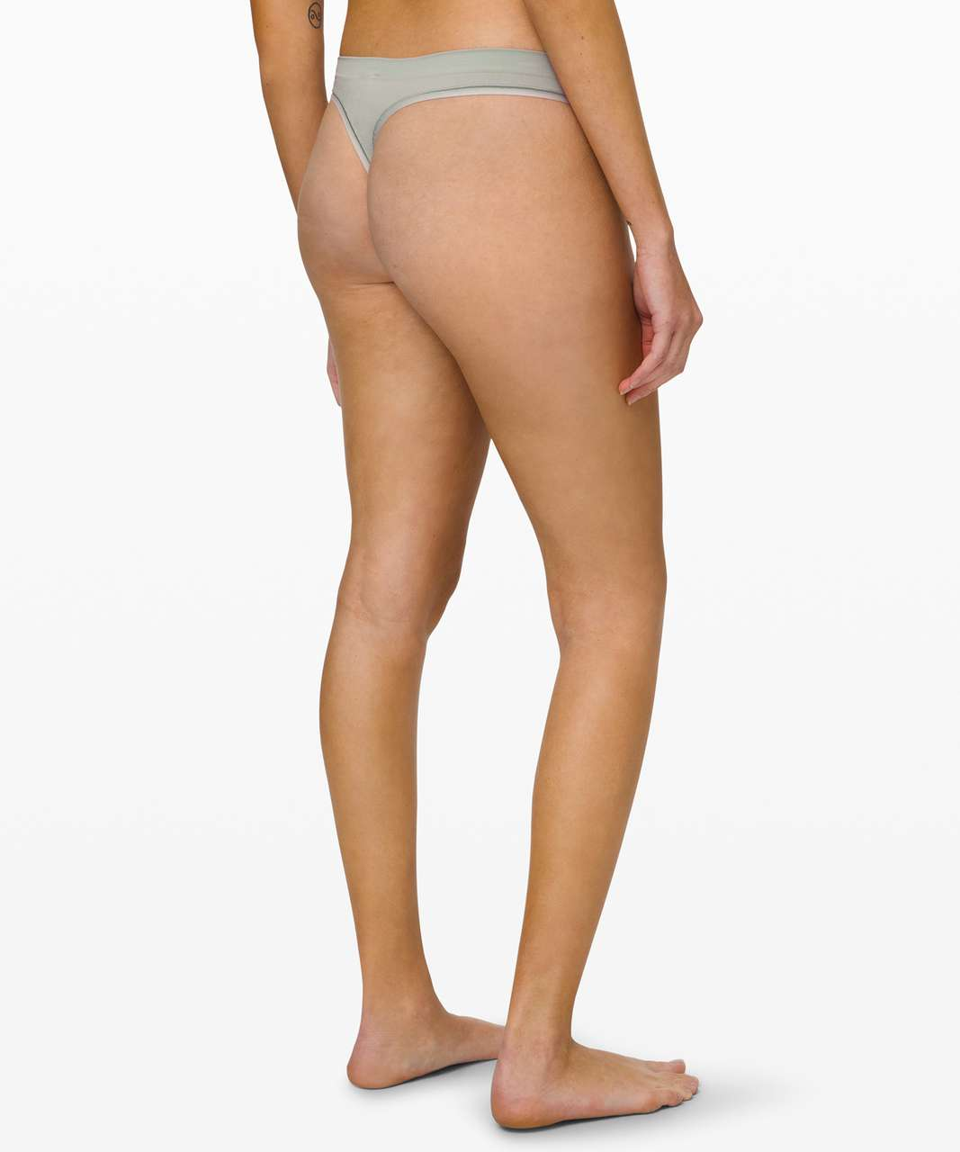 Lululemon Truly Tranquil Thong - Jade Grey