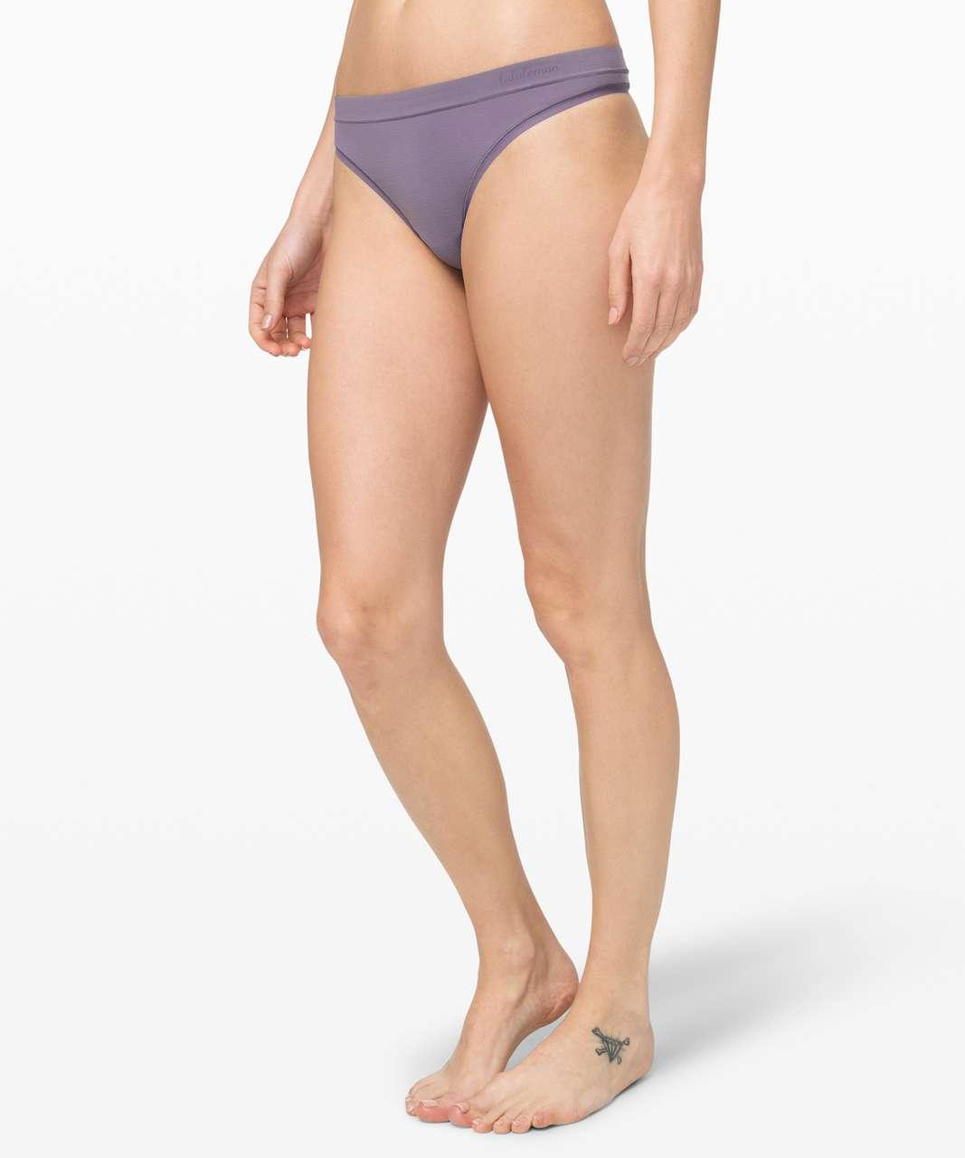 Lululemon Truly Tranquil Thong - Purple Quartz