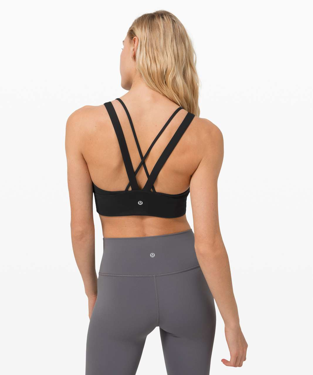 Lululemon Pushing Limits Bra *Light Support For C/D Cup - Black