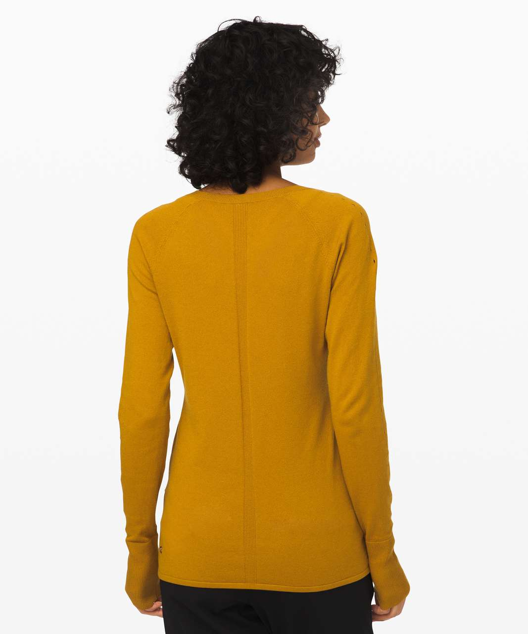 Lululemon Stand Steady Crew Sweater - Fools Gold