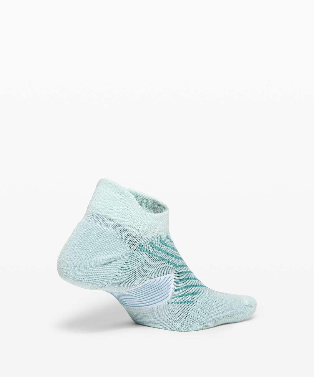 Lululemon Speed Sock *Silver - Rip Tide / Aqua Glow / Aqua Aura