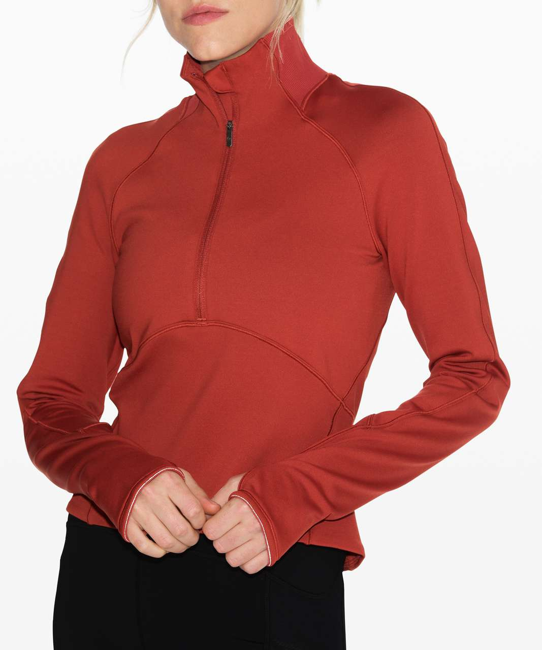 Lululemon Always Alert 1/2 Zip - Magma