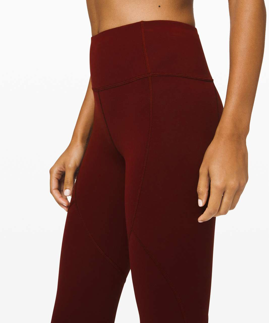 "Lululemon To The Beat Tight 24"" - Garnet"