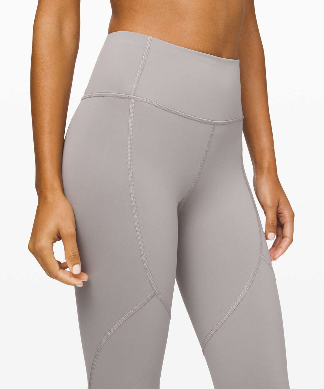 "Lululemon To The Beat Tight 24"" - Dark Chrome"