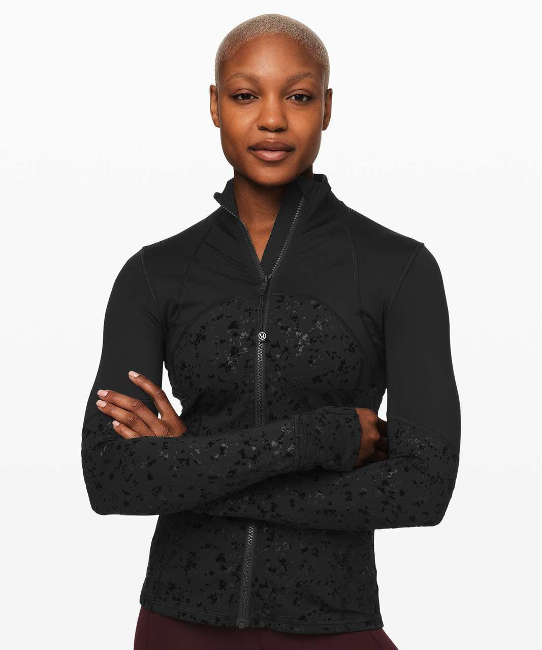 Lululemon Define Jacket *Speckle Shine - Black / Black
