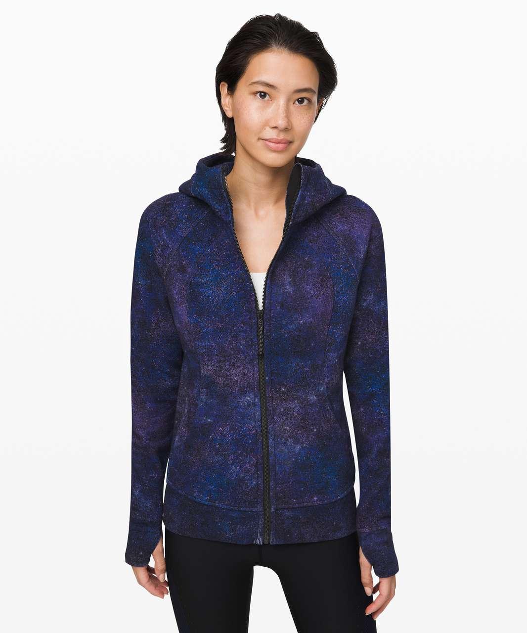 Lululemon Scuba Hoodie *Light Cotton Fleece - Polar Lights Blue Multi
