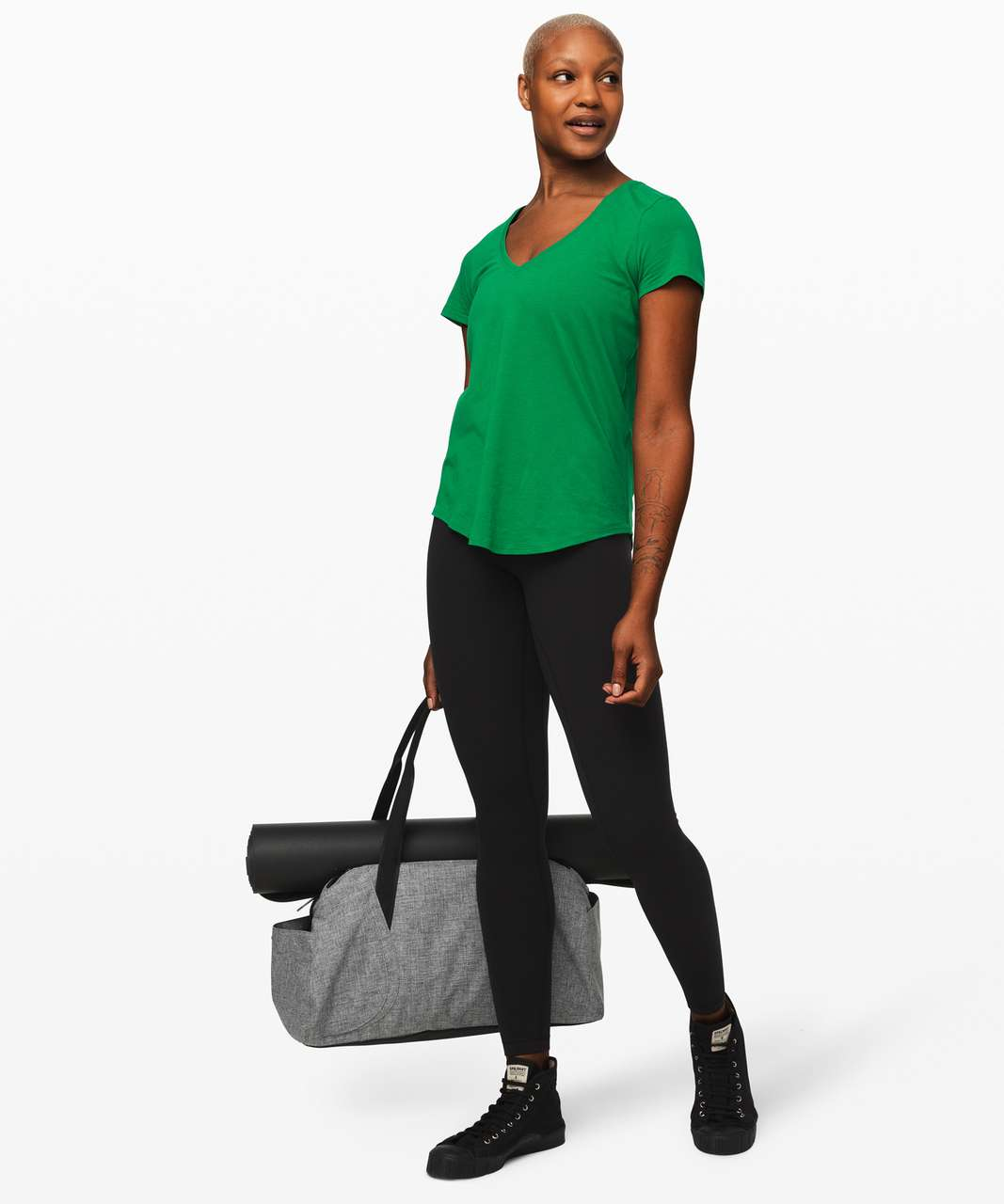 Lululemon Love Tee V - Classic Green