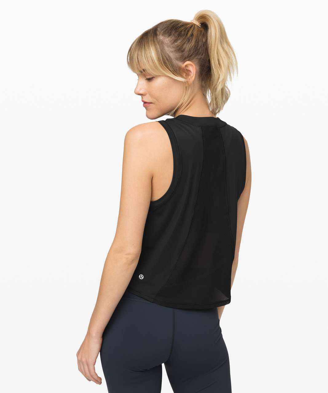 Lululemon Sheer Will Tank *Pulse - Black