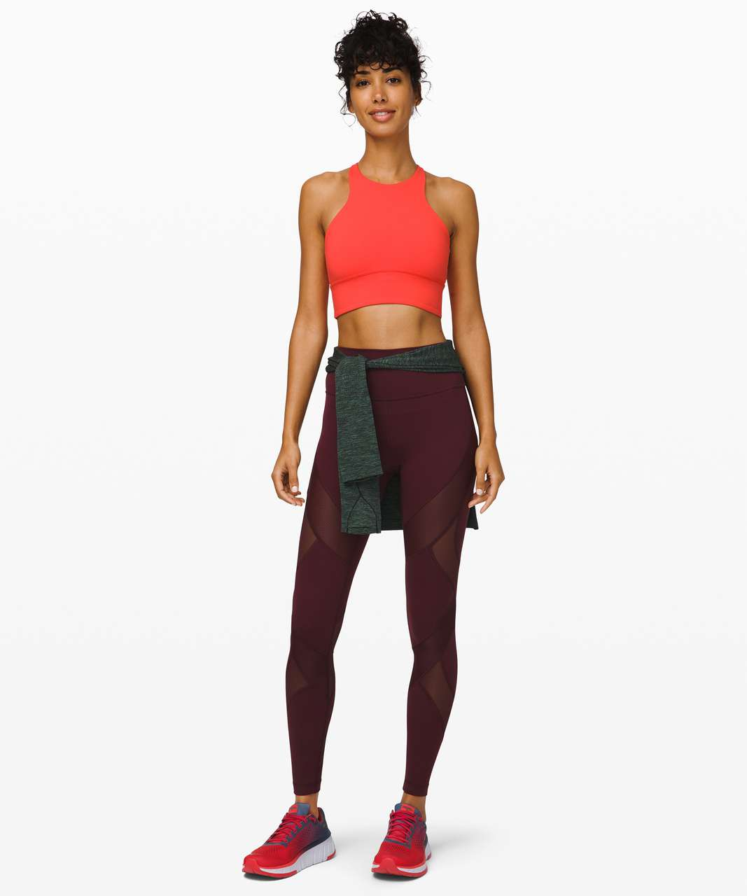 Lululemon Free To Be Moved Bra *High Neck - Thermal Red