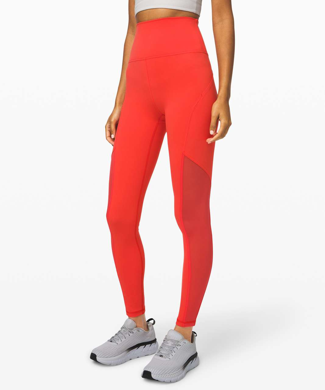 "Lululemon Mastered Motion High-Rise Tight 28"" - Thermal Red"