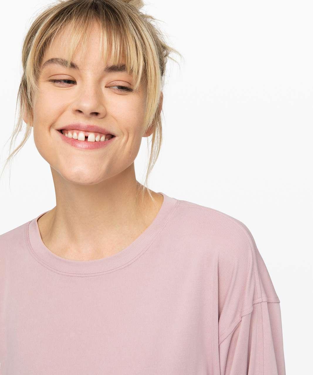 Lululemon Loungeful Drape Long Sleeve *Cupro - Smoky Blush