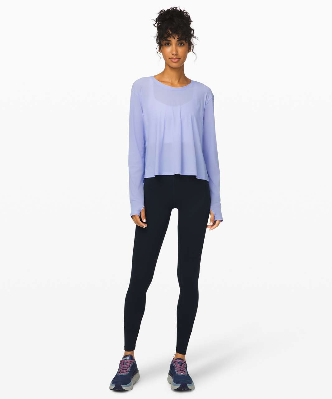 Lululemon No Inhibitions Long Sleeve - Lavender