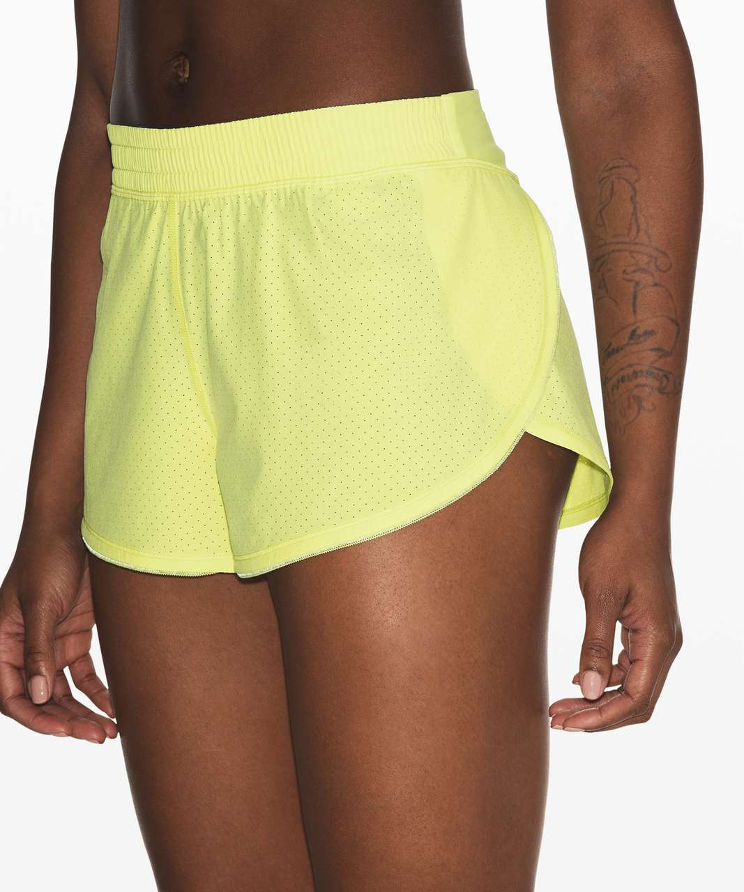 "Lululemon Surefire Short 3"" - Florid Flash"