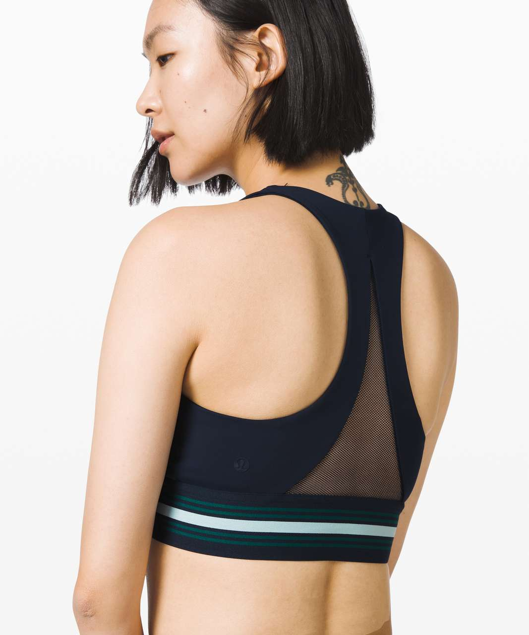 Lululemon My Element Bra *lululemon x Roksanda - True Navy / Emerald / Arctic Teal
