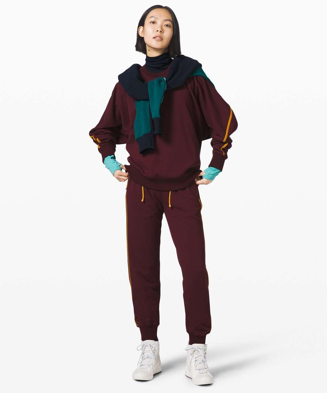 Lululemon Face Forward Sweatshirt *lululemon x Roksanda - Garnet / Fools Gold