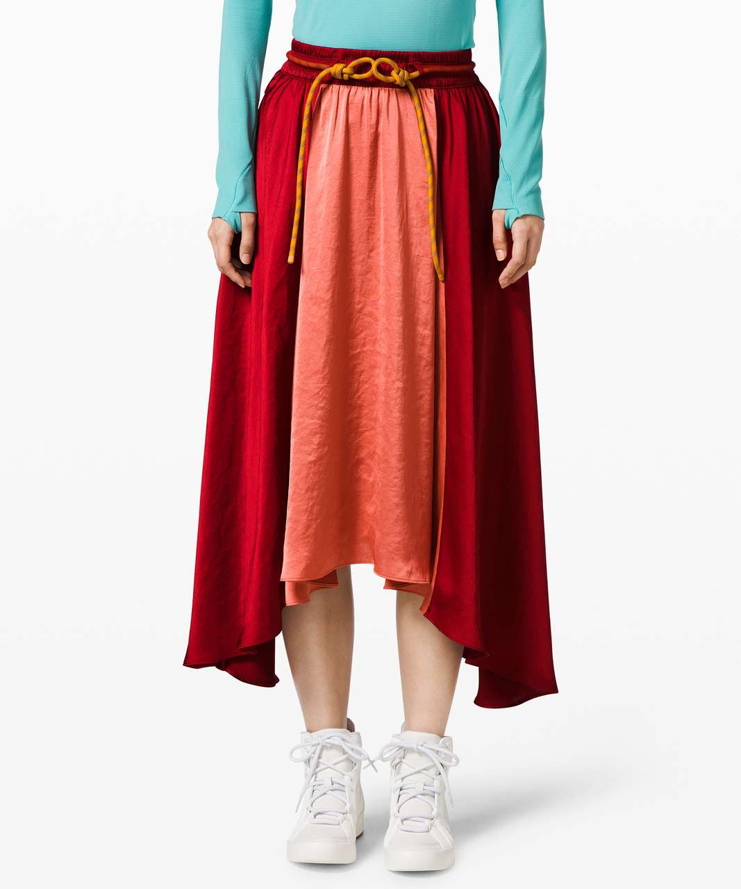 Lululemon Face Forward Skirt *lululemon x Roksanda - Caliente / Rustic Coral / Fools Gold