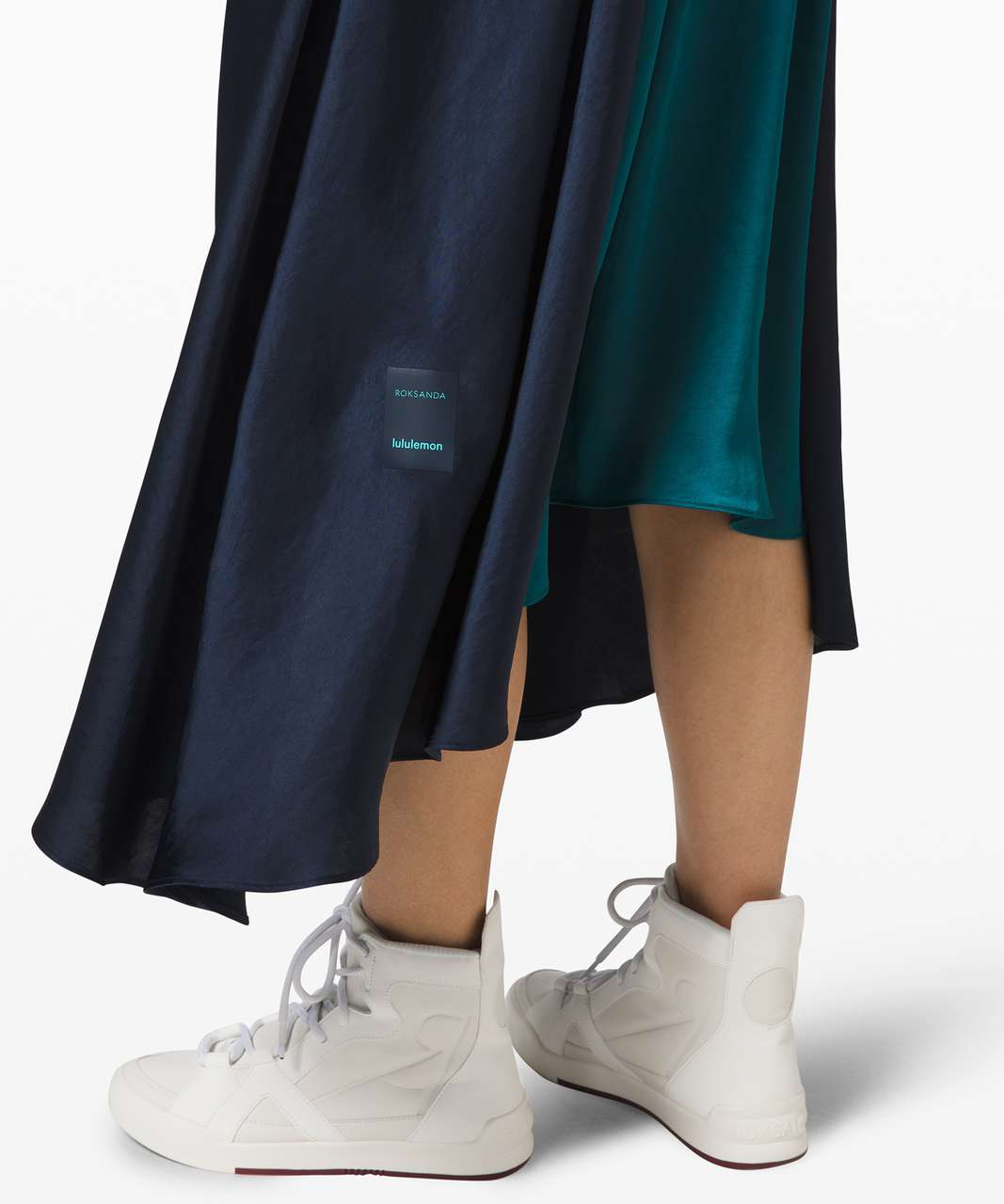 Lululemon Face Forward Skirt *lululemon x Roksanda - True Navy / Emerald / Frost