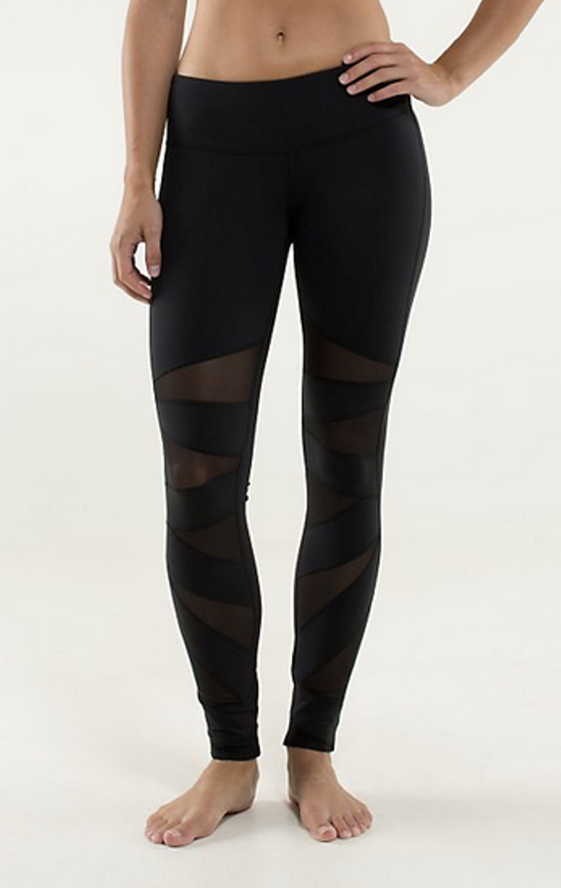 251df12e36f81 Lululemon Tech Mesh Tight - Black - lulu fanatics