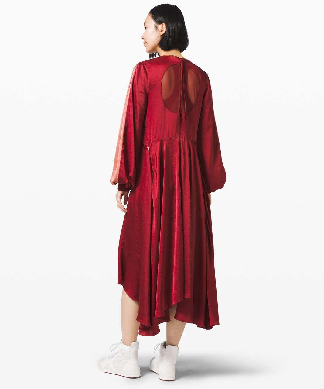 Lululemon Face Forward Dress *lululemon x Roksanda - Caliente / Rustic Coral