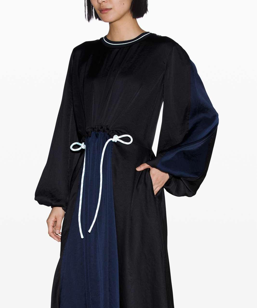 Lululemon Face Forward Dress *lululemon x Roksanda - Black / True Navy