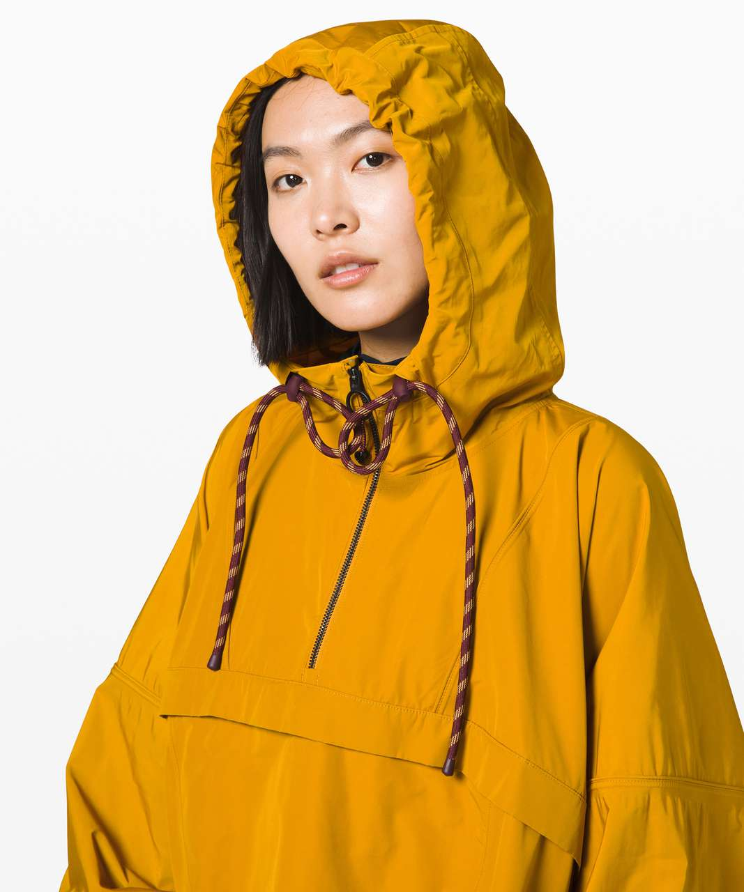 Lululemon Face Forward Cape *lululemon x Roksanda - Fools Gold / Garnet