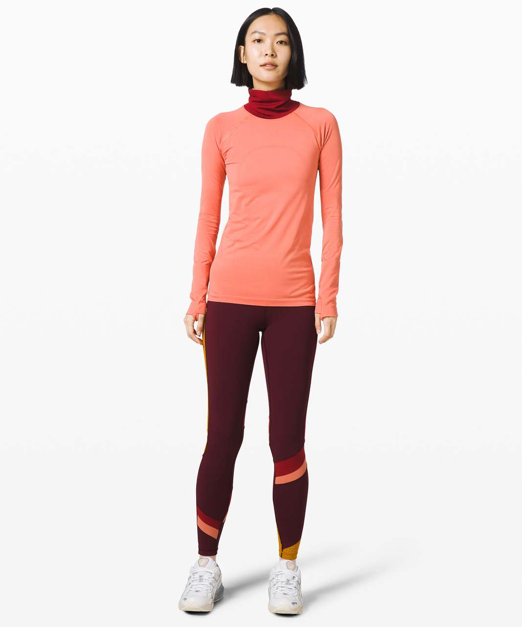 Lululemon Break New Ground Swiftly *lululemon x Roksanda - Rustic Coral / Caliente