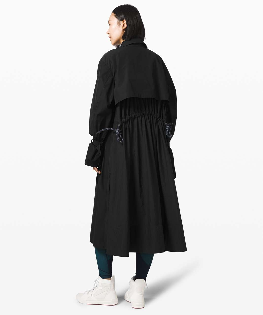 Lululemon Face Forward Trench Coat *lululemon x Roksanda - Black
