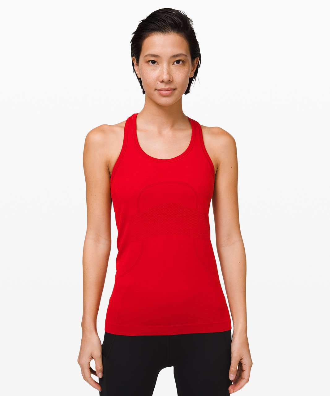 Lululemon Swiftly Tech Racerback - Dark Red / Dark Red