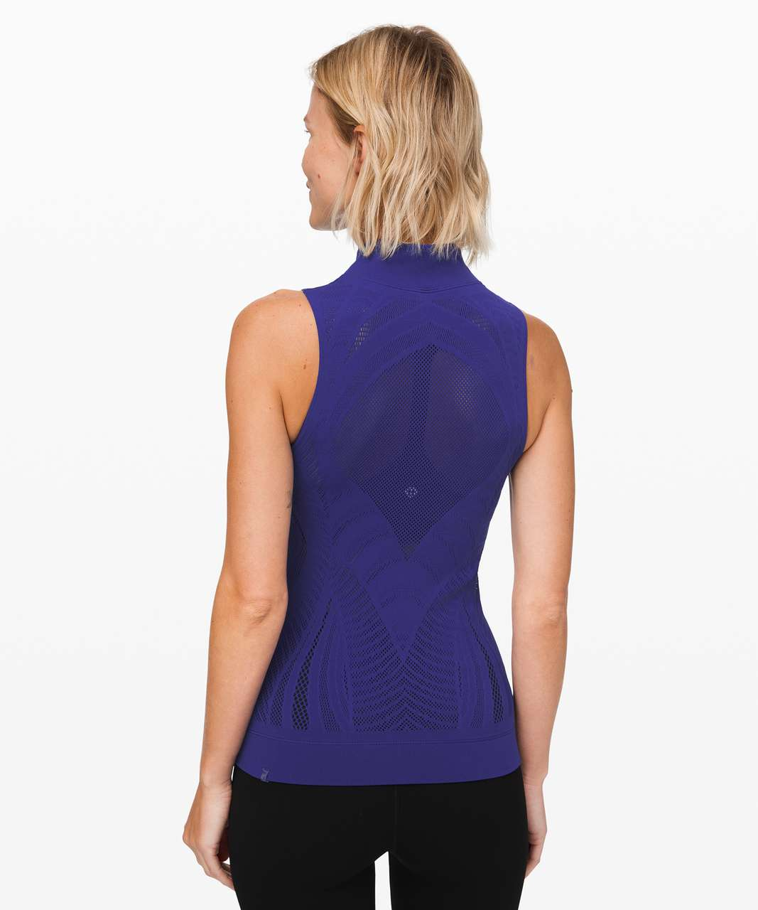 Lululemon Reveal Mock Neck Tank *Aurora - Larkspur