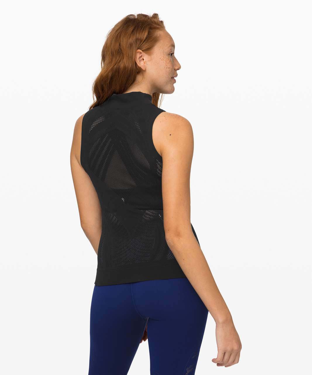 Lululemon Reveal Mock Neck Tank *Aurora - Black
