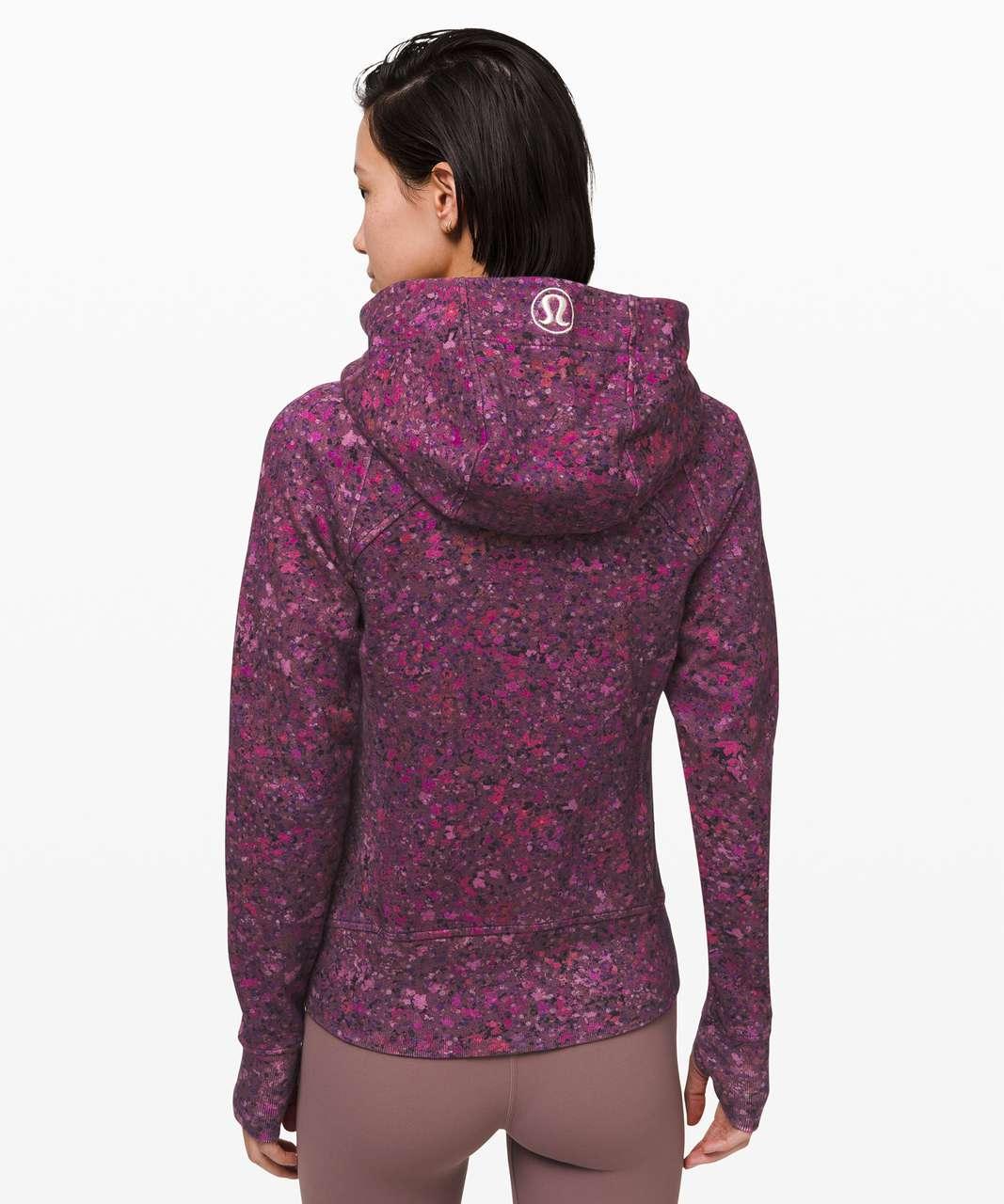 Lululemon Scuba Hoodie *Light Cotton Fleece - Ornemental Floral Multi