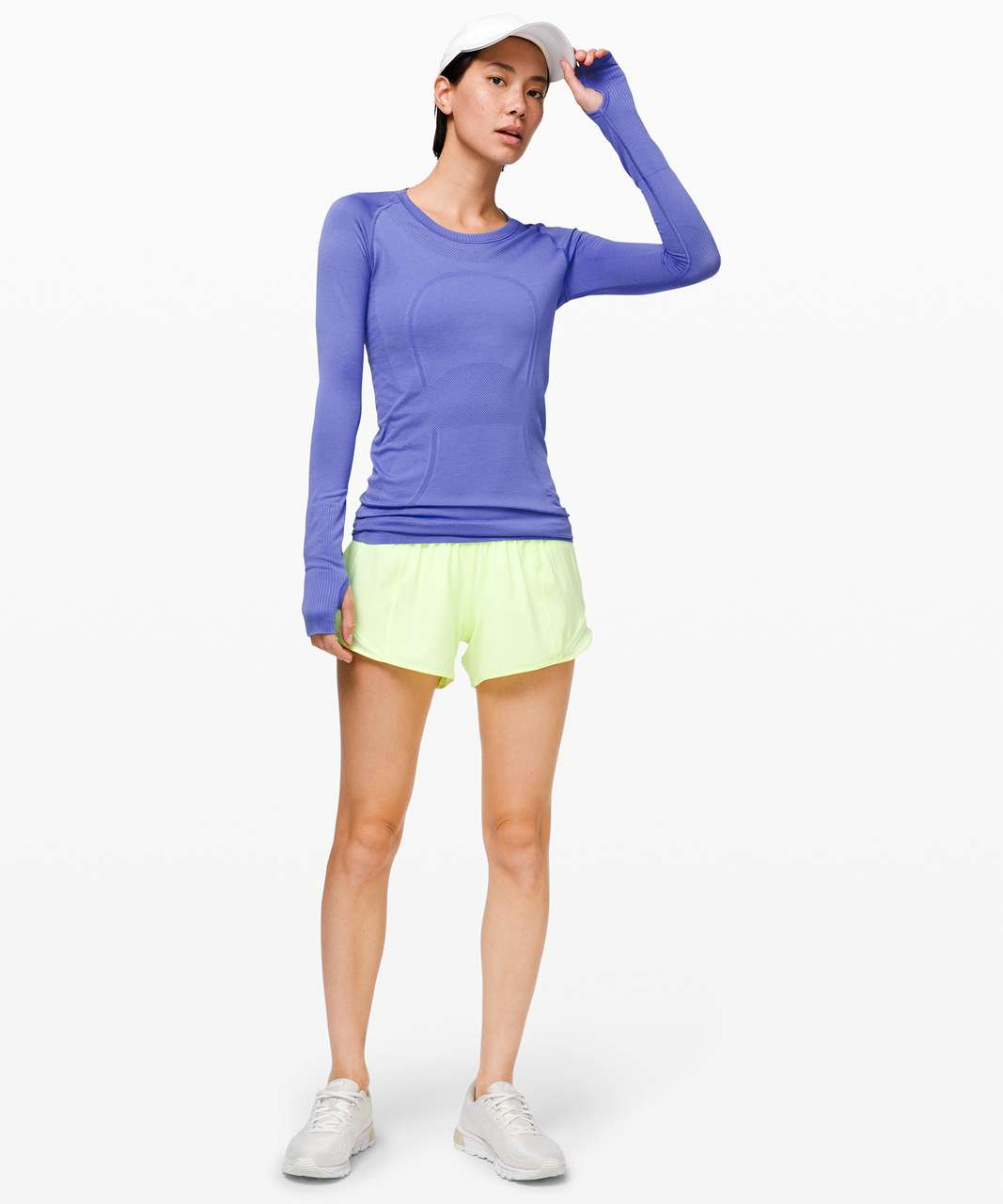 Lululemon Swiftly Tech Long Sleeve Crew - Violet Viola / Violet Viola