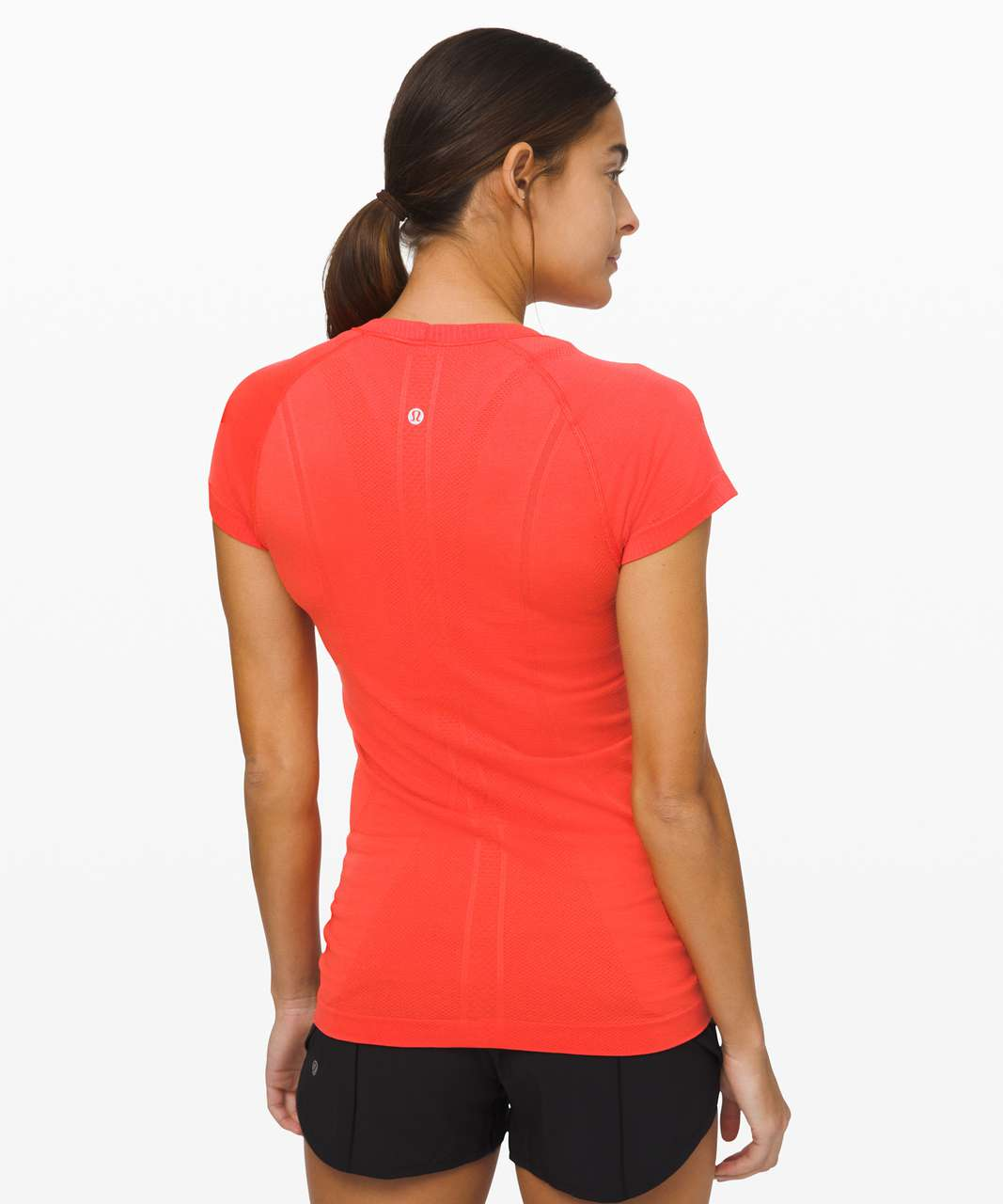 Lululemon Swiftly Tech Short Sleeve Crew - Thermal Red / Thermal Red