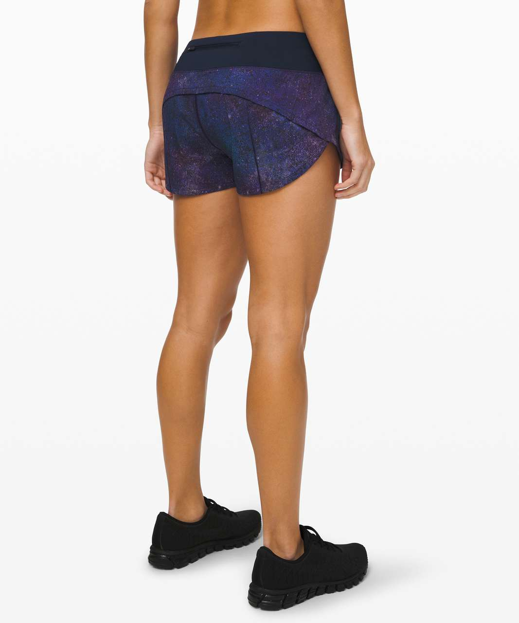 "Lululemon Speed Up Short *2.5"" - Polar Lights Blue Multi / True Navy"