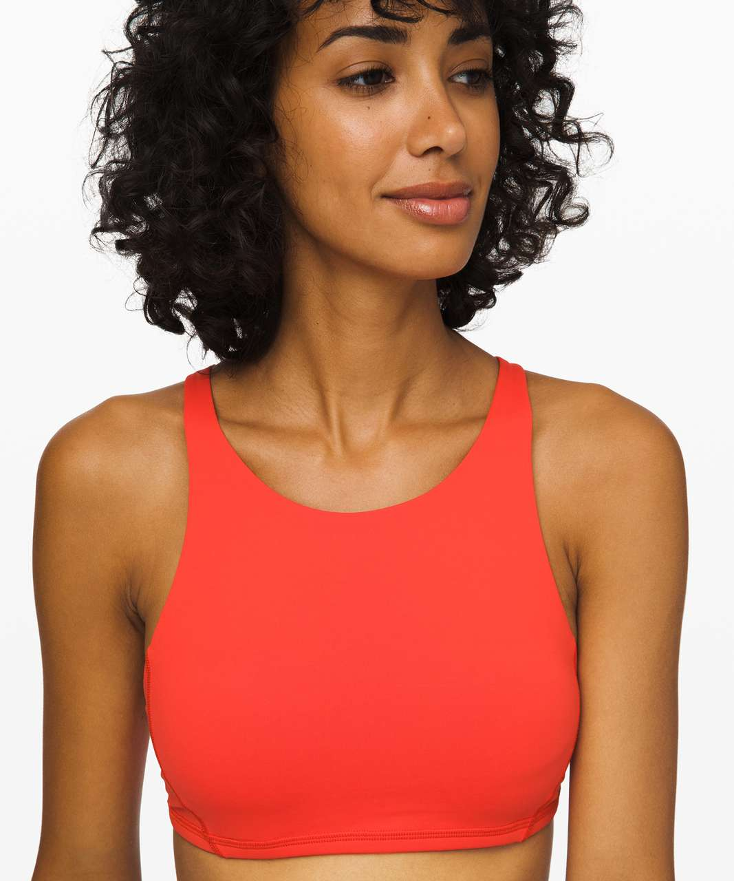 Lululemon Free To Be Bra High Neck - Thermal Red