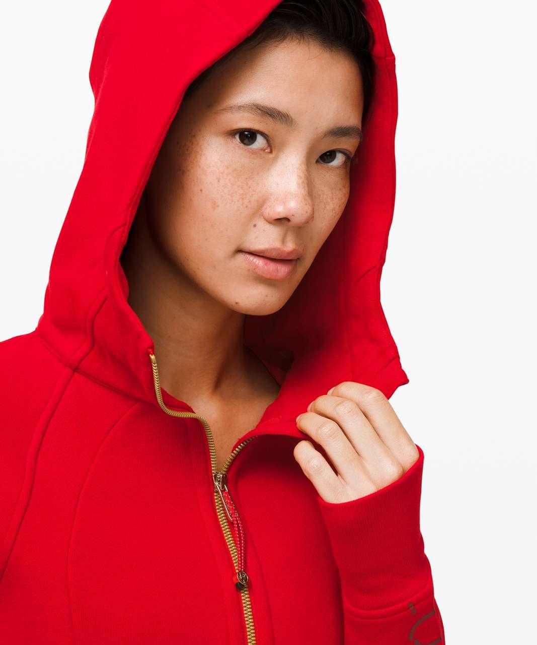 Lululemon Scuba Hoodie *Lunar New Year - Dark Red